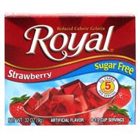 Wholesale Royal Sugar Free Gelatin Strawberry
