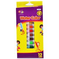 Wholesale Water Colors - 12 Colors