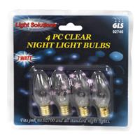 Wholesale 4pc NIGHT LIGHT BULBS