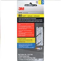 Wholesale 5pk 3M SANDPAPER 80 GRIT