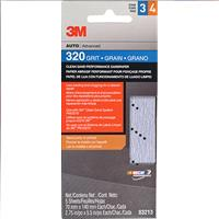Wholesale 5pk 3M SANDPAPER 320 GRIT
