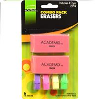 Wholesale Z6CT COMBO PACK ERASER 4 CAPS
