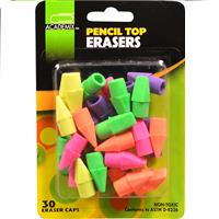 Wholesale Z30CT PENCIL TOP ERASER CAPS