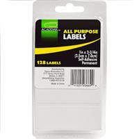 "Wholesale LABELS WHITE ALL PURPOSE 1""x 2"