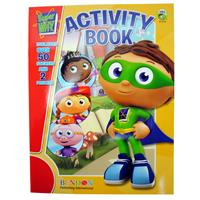 Wholesale Super Why Coloring & Activity Book with Stickers a - GLW
