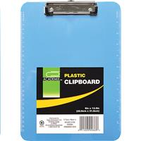 Wholesale CLIPBOARD 6 IN  PLASTIC 9X12.5