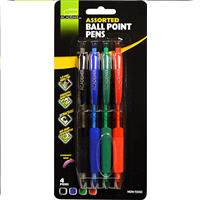 Wholesale Z4PK BALL POINT PENS 4 COLORS