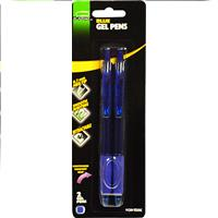 Wholesale Z2PK BLUE GEL PENS .7MM COMFOR