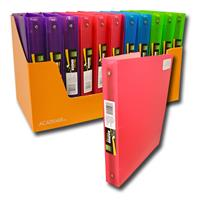 Wholesale BINDER POLY 1IN ASST COLOR PRO