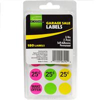 Wholesale GARAGE SALE LABELS PREPRICE 3/