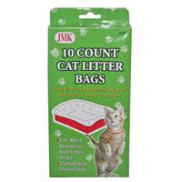 Wholesale 10 COUNT CAT LITTER BAGS