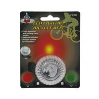 Wholesale LED LIGHT-UP BICYCLE BELL