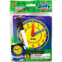 Wholesale WRITE WIPE JUDY CLOCK W PEN