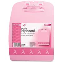 """Wholesale OFFICEMATE PINK PLASTIC CLIPBOARD 9x12.5"""""""" WITH CLIP & PEN HOLDER"""