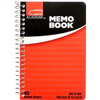 Wholesale MEMO PAD LARGE SIDE SPINE 4 X