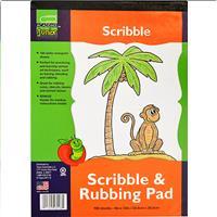 "Wholesale 9x12"" SCRIBBLE PAD 100 SHEET"