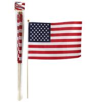 "Wholesale 2pc 12""x18"" FLAG SET"