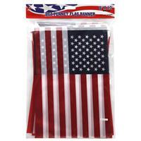 "Wholesale 13"" USA FLAG PENNANT FLAG BANNER"