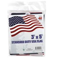 Wholesale USA FLAG 3x5' POLY STANDARD DU