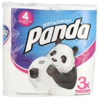 Wholesale 4pk Panda Bath Tissue 176 sheets 2 ply - Ultra Premium