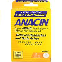 Wholesale 4pk ANACIN PAIN RELIEVER
