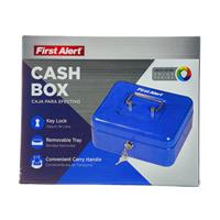 Wholesale ZCASH BOX WITH KEY LOCK & TRAY .1CUFT BLUE