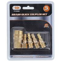 Wholesale 5pc Brass Quick Coupler Set
