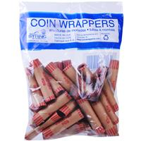 Wholesale 36ct PENNY COIN CRIMPED WRAPPERS IN BAG