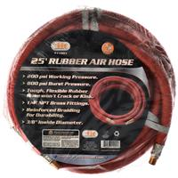 "Wholesale 25' X 3/8"""" Rubber Air Hose"