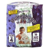 Wholesale Bunnyhugs Large Baby Diapers Sz 4 (22-35 Lbs).  U