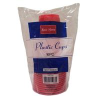 Wholesale Plastic Cups Solid Red 16 oz