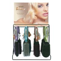 Wholesale Viva Brilliance Hairbrushes Counter Display 4 Styles,  temp unavailable