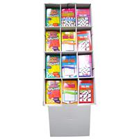 Wholesale Puzzle - Books - Floor Display - Wholesale