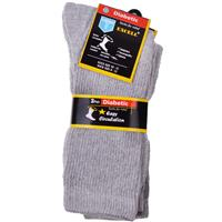 Wholesale Diabetic Crew Sock White 10-13