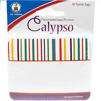Wholesale 40 COUNT CALYPSO NAMETAGS
