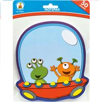 Wholesale 50 SHEET SPACE PALS NOTEPADS