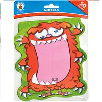 Wholesale 50 SHEET MONSTER NOTEPADS