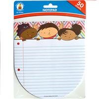 Wholesale 50 SHEET CARSON KIDS NOTEPADS