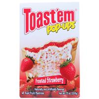 Wholesale Toast'em Pastry Tart Frosted Strawberry