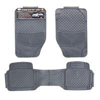 Wholesale 3pc CAR FLOOR MATS - GREY