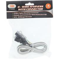 Wholesale 4' Harness with 4 Wire Connector