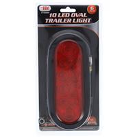 Wholesale 10 LED OVAL TRAILER LIGHT -DOT