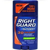 Wholesale Right Guard Sport Invisible Solid Anti-perspirant