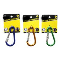 "Wholesale 3"" LOCKING CARABINER"