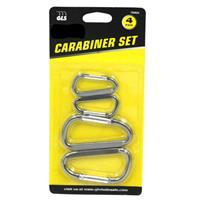 Wholesale 4pc CARABINER SET