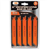 "Wholesale 5 Pack 6"""" Reciprocating Saw Blade"