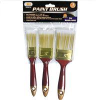 """Wholesale 3pc Paint Brush Set 1"""" - 1-1/2"""" & 2"""""""
