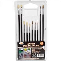 Wholesale 10PC Artist Detail Brush Set