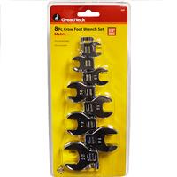 "Wholesale 8PC 3/8"" CROWFOOT WRENCH METRI"