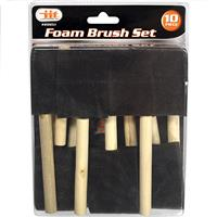 Wholesale 10PC FOAM BRUSH